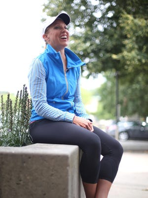 WHO-TV news anchor Sonya Heitshusen returned recently from competing in an Ironman competition in Colorado.