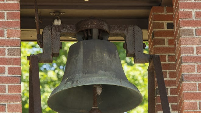 Marlborough officials say the John Brown bell is staying in the city.