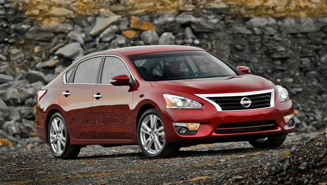 The 2014 Nissan Altima Sedan is available in seven well-equipped models. The 2.5, 2.5 S, 2.5 SV and 2.5 SL feature a 182-horsepower 2.5-liter inline four-cylinder, and the 3.5 S, 3.5 SV and 3.5 SL offer a standard 270-horsepower 3.5-liter V6 engine.