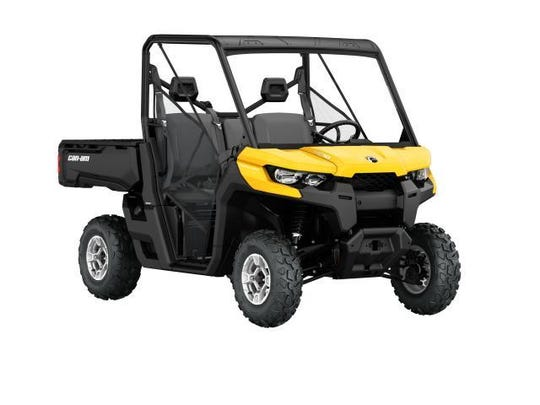 "This recall involves model year 2016 Can-Am Defender, Defender DPS, and Defender XT model side-by-side off-road vehicles, which can unexpectedly roll away when in the ""park"" or ""P"" position, posing an injury hazard to users."