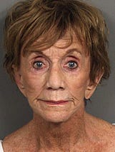 Police arrested Joan Helen Smith of Palm Desert on Sunday for allegedly driving under the influence of prescription medication.