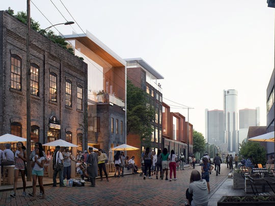 Proposed rendering of the Franklin Street Heritage