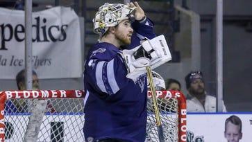 PHOTOS: Ice Flyers fall at home against Macon Mayhem