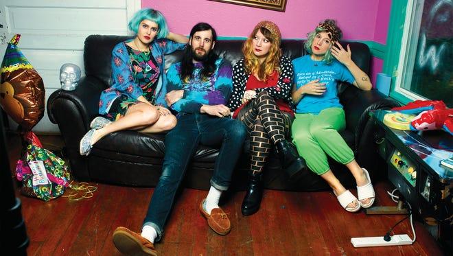 Seattle-based band Tacocat.