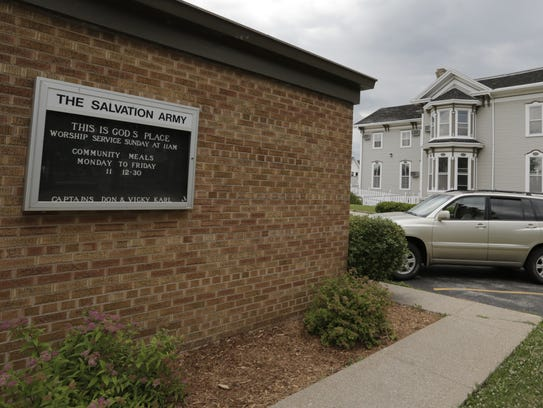 The Oshkosh Salvation Army will be razing the four