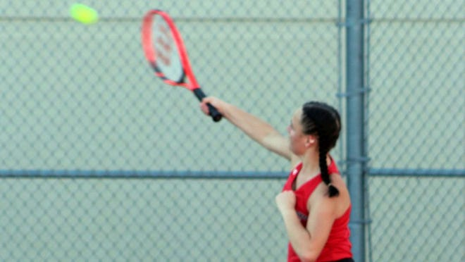 Talia McCorquodale has played well in a few Redwood Valley losses.