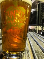 Bier Brewery's pumpkin ale.