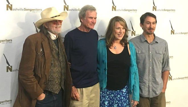 Aaron Barker, Bob Morrison, Beth Nielsen Chapman and Will Van Zandt (son of Townes Van Zandt)