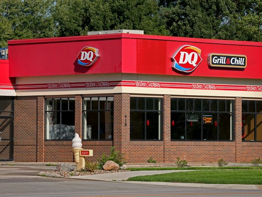 Dairy Queen, 418 S. Ankeny Blvd., in Ankeny. There are 12 other Dairy Queen locations in the Des Moines metro.