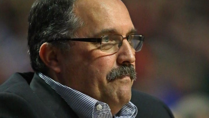 """Stan Van Gundy: """"We don't have a lot of life in us — and we have to try to find some by Friday (against Orlando)."""""""