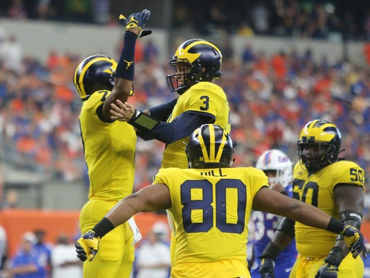 Wolverines vs. Gators