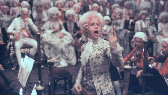 "Tom Hulce stars as the wild-child Mozart in ""Amadeus."""