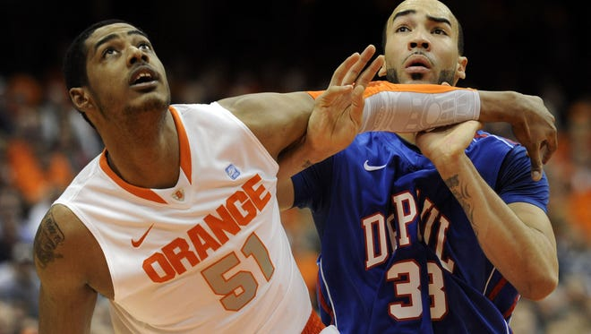 Fab Melo played two seasons for Syracuse and was named Big East Defensive Player of the Year as a sophomore, making a huge improvement from his freshman year when he was clumsy and in constant foul trouble.