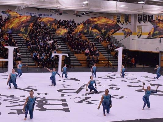 Somerville High School hosts winter guard show April 7