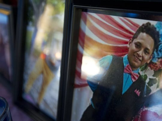Macareo Julian-Solis, 14, and three of his siblings passed away following an accident Saturday on I-95. (LEAH VOSS/TREASURE COAST NEWSPAPERS)