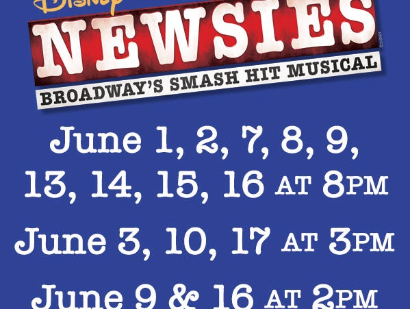 Don't miss 'Newsies' at theAxelrod Performing Arts Center in Deal Park.