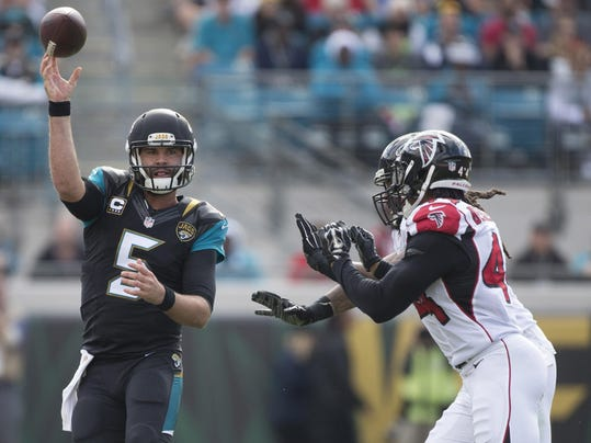 NFL: Atlanta Falcons at Jacksonville Jaguars