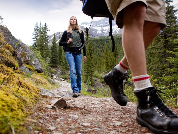 A panel of hiking experts have nominated 20 incredible