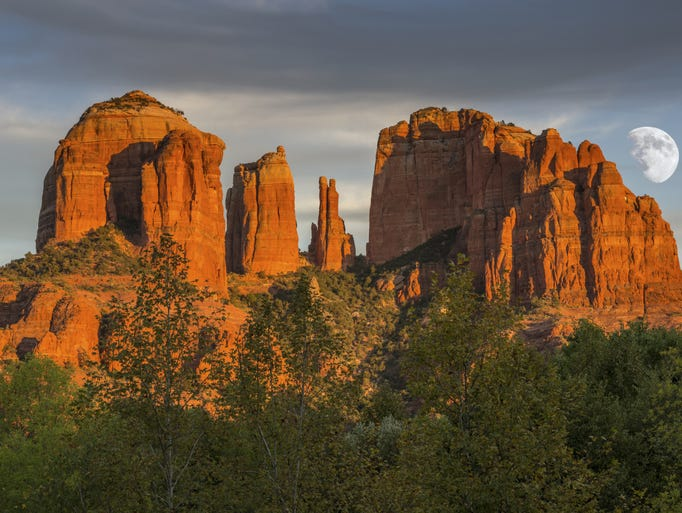 Cathedral Rock is one of Sedona's most popular scenic