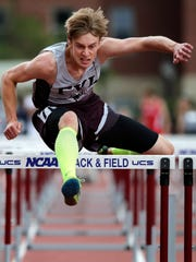Fox Valley Lutheran's Jordan Hempel competes in the