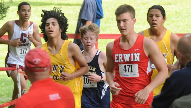 Erwin is looking to hire a boys and girls cross country coach.