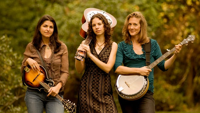 (l to r) Carolann Solebello, Abbie Gardner and Laurie MacAllister of the Americana group, Red Molly.