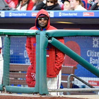 Phillies first baseman Ryan Howard owns a rich contract