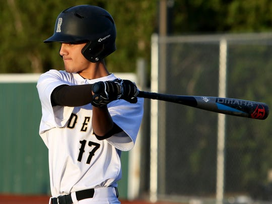 Rider's Jerry Montijo had two hits and scored a run Tuesday against WFHS.