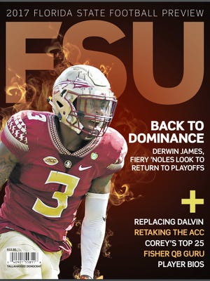 Expectations are high for the Florida State football team in 2017, and the Tallahassee Democrat's annual football preview magazine is your source for in-depth, behind-the-scenes stories about the upcoming season.