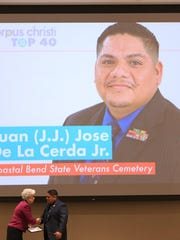 J.J. De La Cerda had been with the Coastal Bend State Veterans Cemetery since 2011.