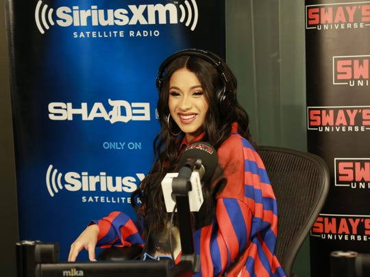 Rapper Cardi B was making the media rounds Tuesday, appearing on  SiriusXM Hits 1's Morning Mash Up.