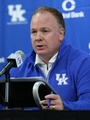 Kentucky head coach Mark Stoops talks about last season and the new coaching changes that he has in mind for next season.January 4, 2016