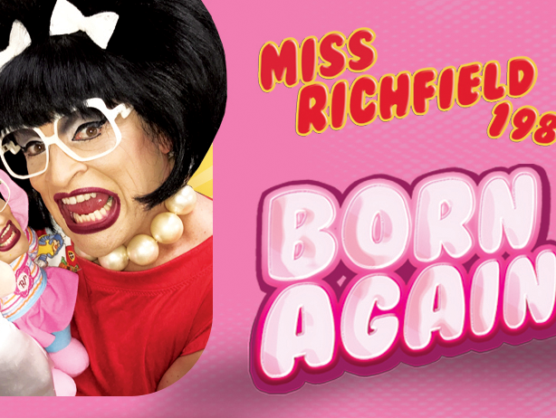 "Insiders save $5 on tickets to see Miss Richfield 1981's ""Born Again"" at  RAPA in Rochester."