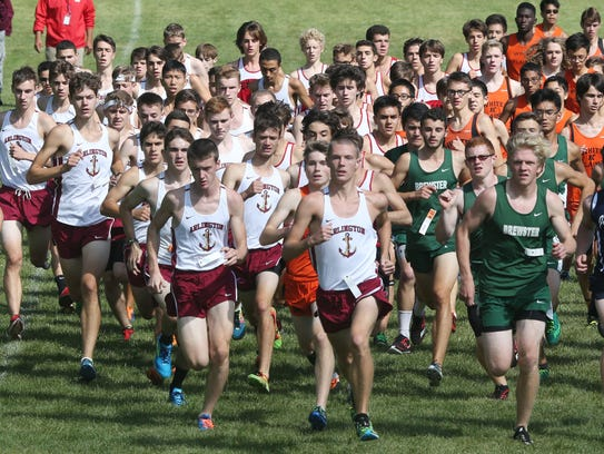 The Arlington boys get off to a quick start during