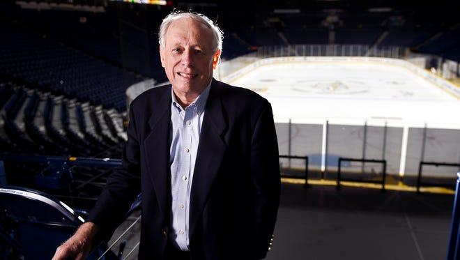 Former Nashville mayor and Tennessee governor Phil Bredesen had a vision for downtown that included an arena.