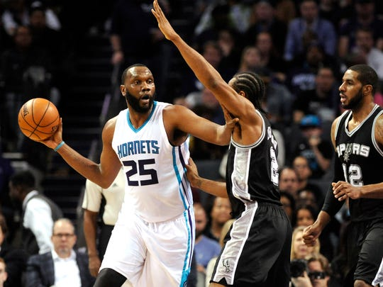 A 12-year veteran, Al Jefferson could prove a solid compliment to second-year pro Myles Turner.