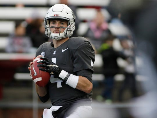 Luke Falk didn't draw a lot of recruiting interest out of high school in Logan, Utah. But the former walk-on at No. 8 Washington State has blossomed into a Heisman Trophy candidate as the undefeated Cougars raise eyebrows across the college football world.