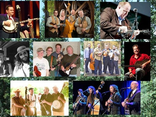 The 7th annual Bluegrass In The Pines bluegrass festival