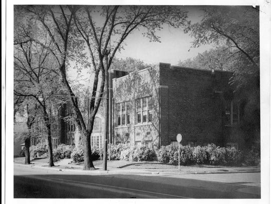 Lincoln School at the corner of 14th and Salem streets.
