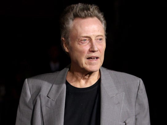 "FILE - This Oct. 1, 2012 file photo shows actor Christopher Walken at the premiere of ""Seven Psychopaths"" in Los Angeles. NBC says Christopher Walken will play Captain Hook in the network?s live version of ?Peter Pan.? NBC Entertainment Chairman Robert Greenblatt told a TV critics? meeting Sunday, July 13, 2014, that the Oscar-winning actor will bring his own spin to the role. (Photo by Matt Sayles/Invision/AP, File)"