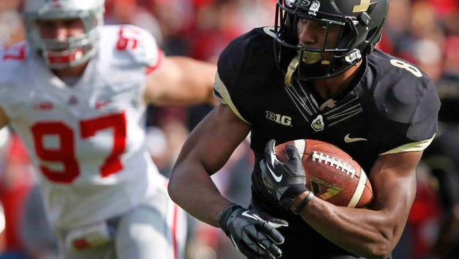 Raheem Mostert, the Big Ten's fastest man in track, could fill the requirements of a running back in Darrell Hazell's system.
