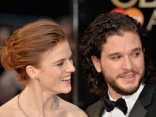 FILE: Kit Harington and Rose Leslie Are Engaged