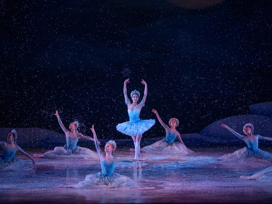 "Marize Fumero dances in ""The Nutcracker,"" performed by Milwaukee Ballet."