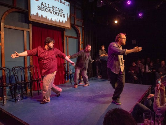 Ferndale's Go Comedy is hosting a pair of shows on New Year's Eve.