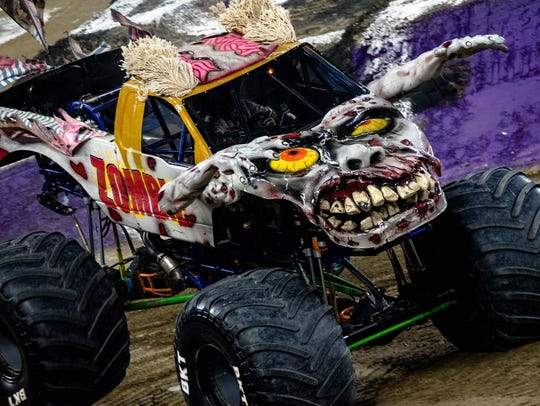 Monster Jam 2018 roared into Ford Field in Detroit,