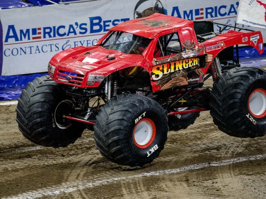 Monster Jam 2018 roared into Ford Field in Detroit, Mich., Saturday, March 10, 2017.