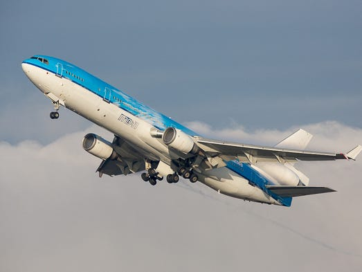 The MD-11 to fly regular commercial passenger flights
