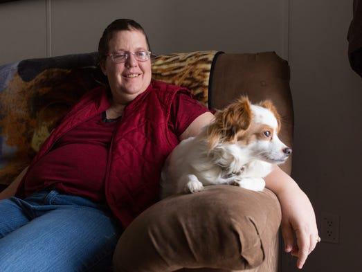 Cheryl Castle, a recent recipient of the high-tech