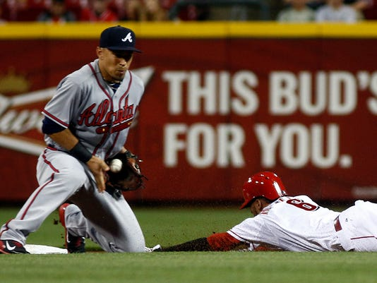 MLB: Atlanta Braves at Cincinnati Reds