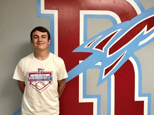 Fahey Bank Athlete of the Month Connor Lust